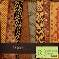 frenzy-paper street designs by paperstreetdesigns