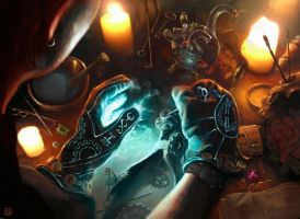 Magic the Gathering, Rogues Gloves by CVDH by tegehel