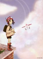 Let's fly to supermarket by sky-2-high