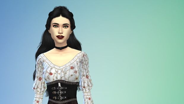 Sarah Willaims Labyrinth. Sims 4 by frodosgirl