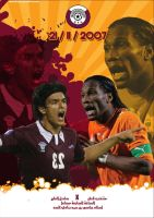 Qatar soccer Poster by razangraphics