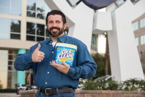 Oxi Clean and Billy Mays by negativedreamer