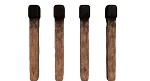 Realistic minecraft torch by A-R-E-P