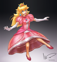 Peach by hybridmink