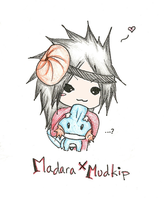 Madara X Mudkip by SoundingTheQuiet777