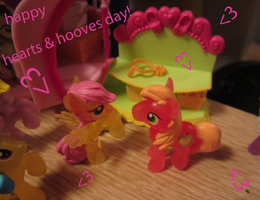 hearts and hooves day card by chappy-rukia