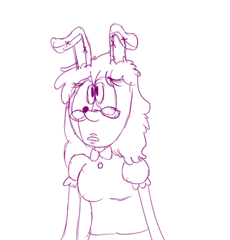 bun lady is much confused by Tubbybubbi
