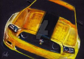 Ford Mustang Boss 302 by GoodieDesign