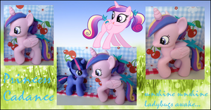 My Little Pony FIM Young Cadance Custom Pony by Asukatze