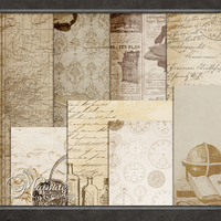 Gentlemens Journey Papers by DaydreamersDesigns