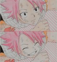 Natsu's Smile by dolce94
