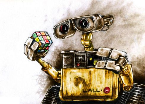Wall-E by bug-xx