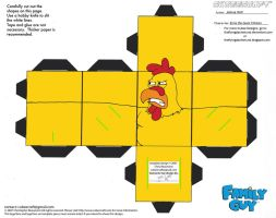 FG2: Ernie the Giant Chicken Cubee by TheFlyingDachshund