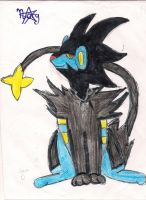 Ricky the luxray by pandabear0223
