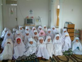orphans praying together by ademmm