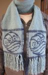 Water Bending Scarf by ashesonfire
