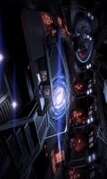 Mass Effect 3 Normandy CIC bootanimation 480x800 by Melllin