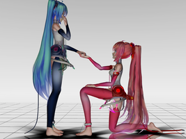 Do you accept dance with me? (MikuXLuka) by BeatrizForever