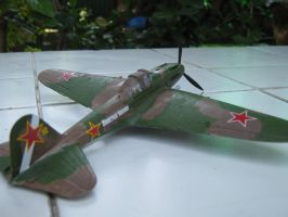 IL2 Sturmovik Back View by pete7868