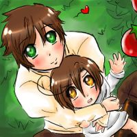 I want those tomatoes by Pucka-Chan