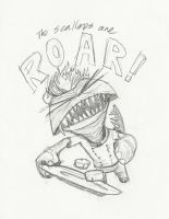 The Scallops are RAWR by srom