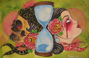 rosas' hour glass by violet-grimm