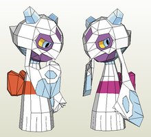 Papercraft - Froslass by Jyxxie