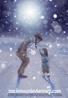 The Kiss of the Snow by nackmu