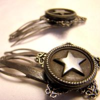 Dieselpunk Lolita Hairclips by SteamSociety