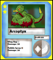 Arcoptyx Card (Adopt) by Dianamond