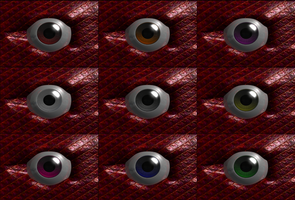 Talonblaze's Eye Variations - by Kelathe