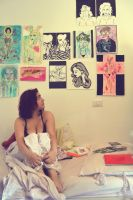 Me and my works by plumcake-mery