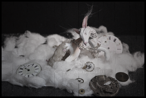 + Pirouette with Clocks + by ShePaintsWithBlood
