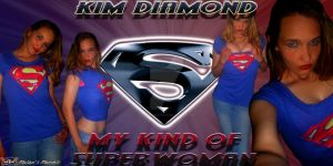 Kim Diamond-Superwoman by MalakisMarvels