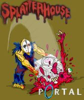 Splatterhouse + Portal - ??? by Drake-Appaz