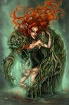 Poison Ivy and Swamp Thing by SpookyChan