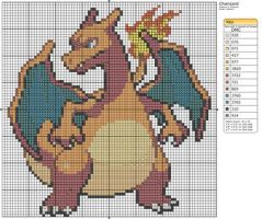 6 - Charizard by Makibird-Stitching