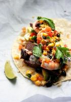 Surf n Turf Taco by sasQuat-ch