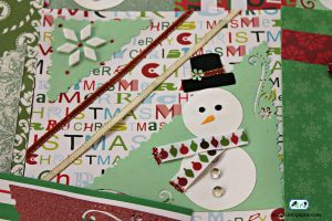 Snowman Christmas Card 2 by SugiAi