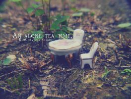365: 64. An alone tea-time. by KimChev