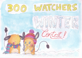 300 Watchers Winter Contest! *CLOSED* by PitchBlackEspresso