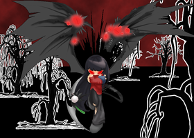 Halloween 2011: Nightmancer by KristieConspiracy