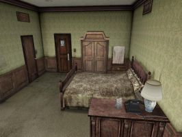 Silent Hill 2 Room 312 by ParRafahell