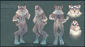 Murphy Character sheet for vgretrophilia! by painted-bees