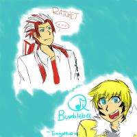 TFP Humanized Sketches by Temarigirl1600