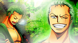 Roronoa Zoro 2Y by Luffythebest1
