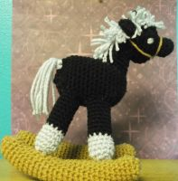 Crochet Rocking Horse by ShadowOrder7