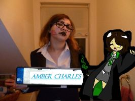 Amber Charles Slytherin 2 by bernetwolfamber1
