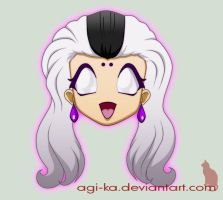 Mortal Kombat emoticon series: Sindel by Agi-ka