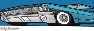 1961 Cadillac Coupe De ville Toon by Jetster1